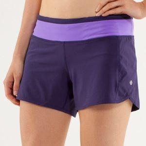 Lululemon Turbo Running Shorts Size 4